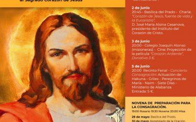 Conferencias preparatorias a la Consagración al Corazón de Cristo de Talavera de la Reina